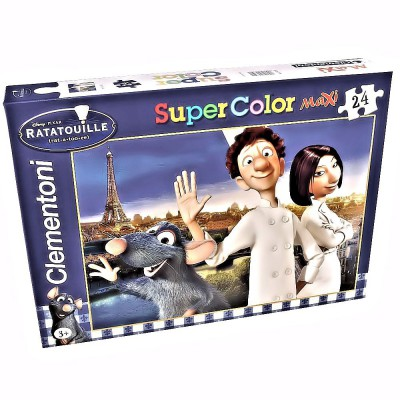 Clementoni Maxi Puzzle - Ratatouille: Le Chef de Paris, 24 Teile Super color maxi – Bild 1