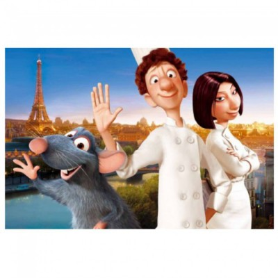 Clementoni Maxi Puzzle - Ratatouille: Le Chef de Paris, 24 Teile Super color maxi – Bild 2
